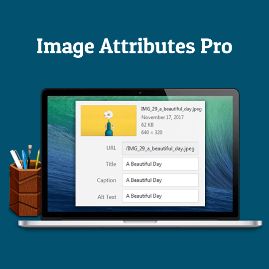 Image Attributes Pro Square Banner